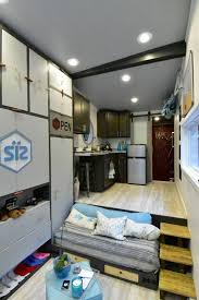 Modern Tiny House Open Concept Modern Tiny Home Has Plenty Of Personality Treehugger