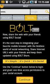 handler apk bolt browser 3 0 now in the android market
