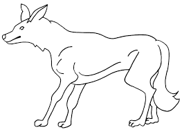beautiful coyote coloring page 89 in download coloring pages with