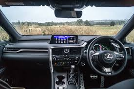 lexus rx interior 2017 lexus rx 450h f sport review carwitter