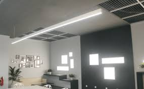linear led sign lighting continuous led linear lighting stl331 sera technologies ltd