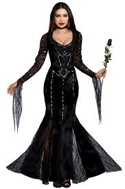 witch costumes frightfully beautiful costume purecostumes