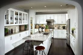 traditional kitchen with breakfast bar u0026 flat panel cabinets