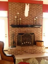 finding a perfect brick fireplace paint design ideas loversiq