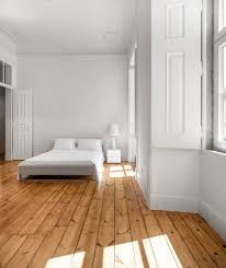 wooden flooring was restored in this 19th century apartment