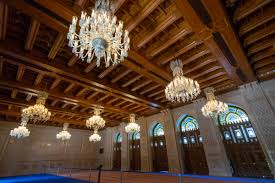 Sultan Qaboos Grand Mosque Chandelier A Visit To Sultan Qaboos Grand Mosque Kevin U0027s Travel Blog
