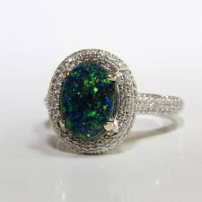 black opal engagement rings black opal rings lightning ridge collection black opal jewelry and