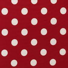 outdoor chair cushion red white polka dot target