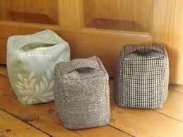 cloth door stops u0026 laura ashley charcoal awning stripe fabric door