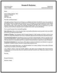 sample resume executive manager sample cover letter for resume sales executive cover letter