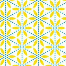 Flower Fabric Design 225 Best Yellow U0026 Blue Design Pattern Combination Images On