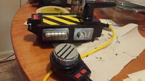 spirit halloween ghostbusters proton pack the real ghostbusters toy trap i repainted for my gb costume the
