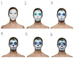 kryolan halloween makeup kryolan halloween sugar skull kit the life edit little