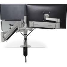 Under Desk Laptop Mount by Innovative Stx 600 8507 Staxx Articulating Monitor U0026 Laptop Mount