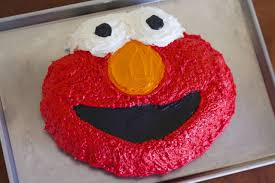 elmo birthday cake recipe makebetterfood