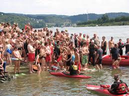 Baden Im Rhein Rheinschwimmen