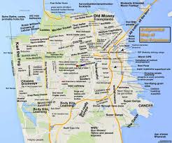 san francisco on map judgmental map of san francisco shows you how to avoid harvard