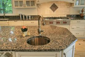 Baltic Brown Granite Countertops With White Cabinets Image Gallery - Baltic brown backsplash