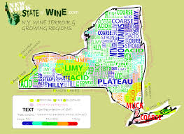 New York Map State by New York State Wineries Map New York Map