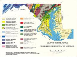 Md Map Maryland Deltiolog