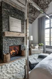 modern fireplace rustic modern fireplace style home design marvelous decorating on