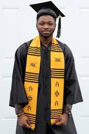 graduation stoles alpha phi alpha graduation kente stole