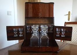 french antique liquor box tabletop liquor cabinet in walnut burl