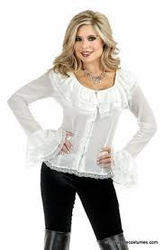 plus size pirate blouse plus size white pirate blouse chevron blouse