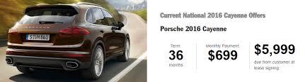 lease deals on porsche cayenne 2016 porsche cayenne lease special autoxploit auto broker