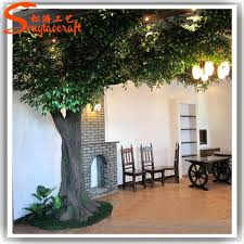 artificial tree for home decor artificial fig tree home decorating