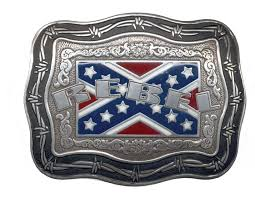 Confederate Flag Wallet Rebel Redneck And Southern Pride Buckles