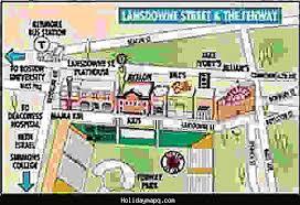 boston tourist map zip code map jacksonville map travel holidaymapq com