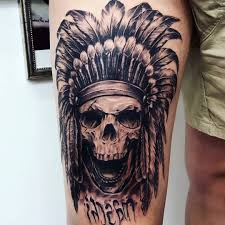 indian skull tattoos pictures 100 the best skull designs