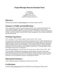 Resume Objective Examples For Retail by Retail Store Manager Resume Example Http Www Resumecareer Info