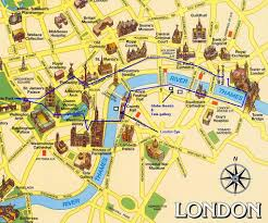 Take Me To Maps Map Of London Monuments Deboomfotografie For Landmarks