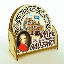 Beverage Coasters Beverage Coasters Mozart Vienna Mozart Strauss Souvenirs