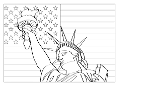 statue of liberty coloring page mount rushmore coloring page