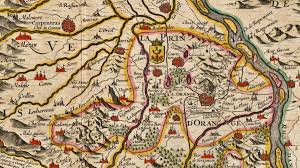 Map Southern France by Principality Of Orange Wikipedia