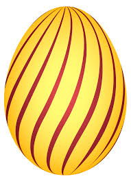 easter egg yellow striped easter egg png clipairt picture gallery