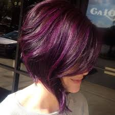 highlights for inverted bob 15 fantastic purple hairstyles inverted bob bobs and hair style