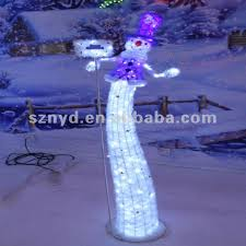 Outdoor Lighted Snowman Funny Led Snowman For Outdoor Christmas Decorations Buy Lighted