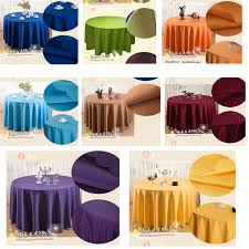 banquet table linens wholesale 10pcs lot 70 wedding hotel banquet table cloth luxury round