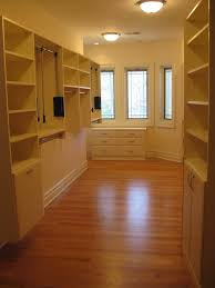 Antique White Laminate Flooring Walk In Closets Sophisticated Storage Solutions