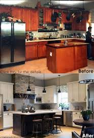 best ideas about before after kitchen pinterest before after tired kitchen awakened coffee house ambience