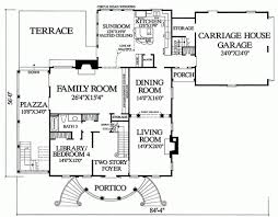 classical style house plan 3 beds 3 baths 3585 sq ft plan 137