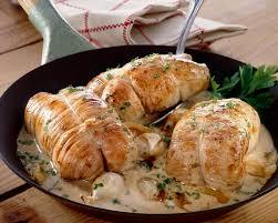 cuisiner escalope de veau recette escalopes de veau gratinées au madère
