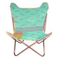 Folding Butterfly Chair Karma Living Kantha Butterfly Chair Fab