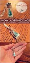 diy snow globe necklace necklace tutorial stocking stuffers and