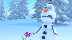learn play olaf frozen olaf cry smell flower