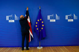 Making A Flag Pole U K Confident Of Making Progress In Brexit Talks By October Fortune